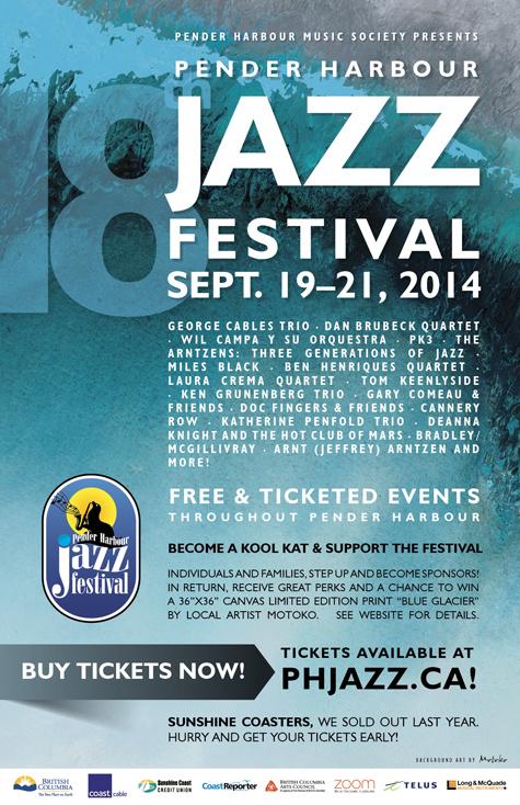 Pender Harbour Jazz Festival 2014